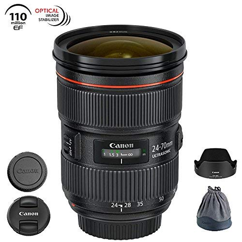 Canon EF 24-70mm f/2.8L II USM Lens - 5175B002 (Renewed)