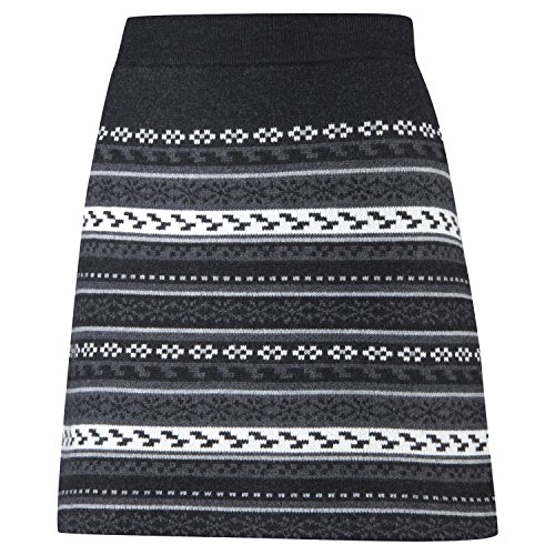 Fresco Sweater Skirt Wms, L, Nordic Black for sale  Delivered anywhere in USA