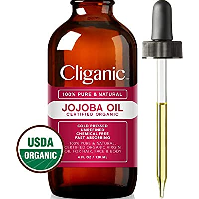 USDA Organic Jojoba Oil, 100% Pure (4oz Large) | Natural Cold Pressed Unrefined Hexane Free Oil for Hair & Face | Carrier Base Oil - Certified Organic | Cliganic 90 Days Warranty - 4024282 , B01A74442I , 454_B01A74442I , 11.99 , USDA-Organic-Jojoba-Oil-100Phan-Tram-Pure-4oz-Large-Natural-Cold-Pressed-Unrefined-Hexane-Free-Oil-for-Hair-Face-Carrier-Base-Oil-Certified-Organic-Cliganic-90-Days-Warranty-454_B01A74442I , usexpress.v