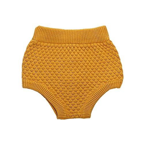 Wennikids Toddler Pumpkin Bloomers Shorts