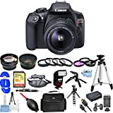 Canon EOS Rebel T6 with 18-55mm DC III Kit [International Version] (All You Need Bundle)