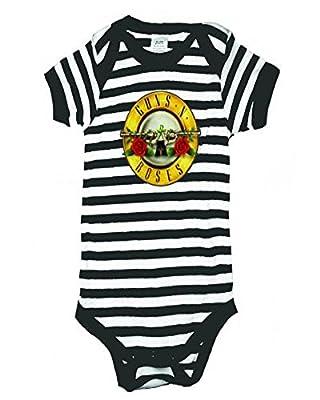 Guns N Roses Bullet Logo Baby One Piece Bodysuit