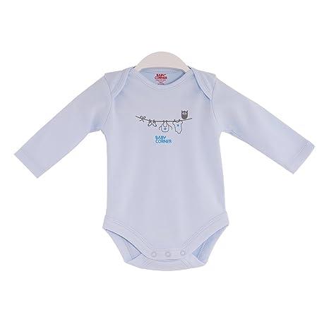 Baby Corner coton hibou imprimé à manches longues Body (6-9 mois ... b32ddfdf1d8