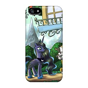 Pretty BoQ24053UDmL Samsung Galaxy S6 Cases Covers/ Luna And Zecora Series High Quality Cases