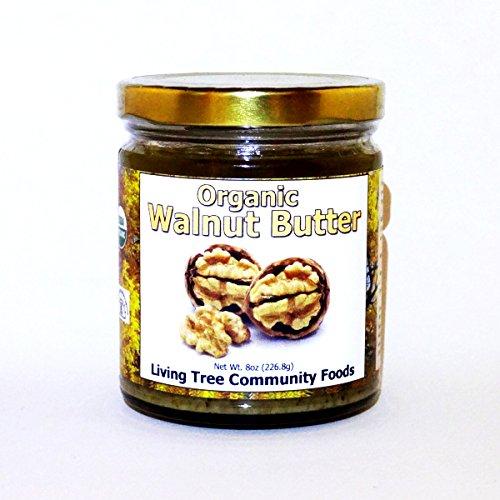 Living Tree Organic Raw Walnut Butter - 8 ounce