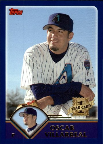 2003 Topps Traded #T224 Oscar Villarreal FY RC