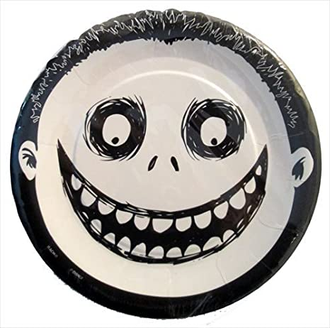 Nightmare Before Christmas Small Paper Plates (8ct)  sc 1 st  Amazon.com & Amazon.com: Nightmare Before Christmas Small Paper Plates (8ct ...