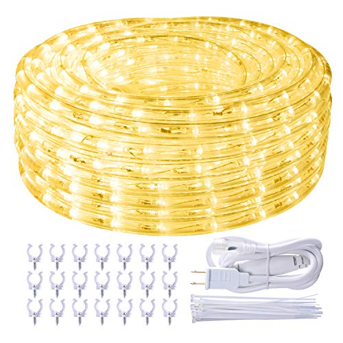 Outdoor Rope Light Warm White in US - 5