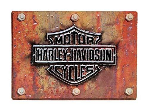#2010831 Ande Rooney Harley Davidson Made Plate Metal/Tin Sign