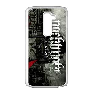 LG G2 Cell Phone Case Covers White Nachtmahr band MS4608573