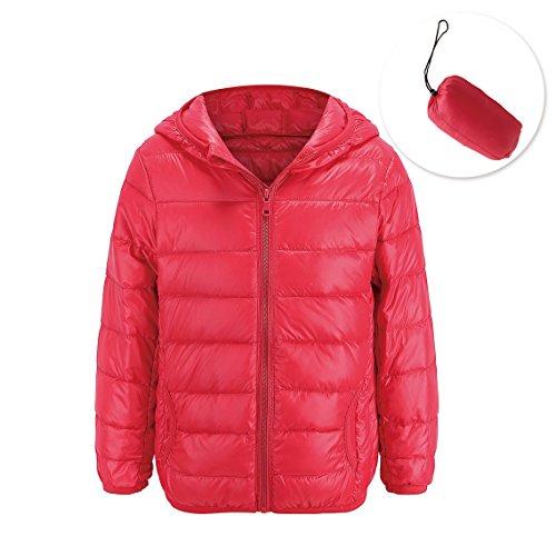 Oriental Pearl Baby Boys Girls Lightweight Hooded Down Coat Packable Puffer Padded Jacket