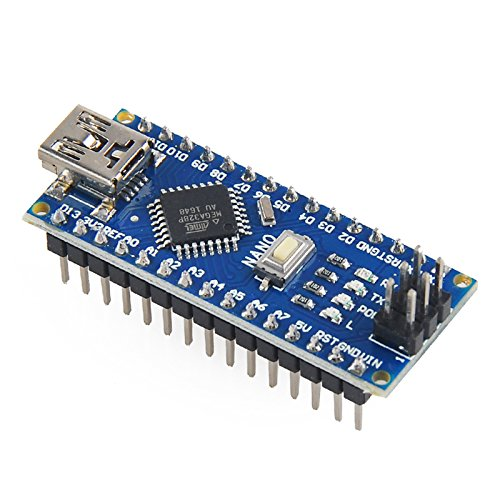 Mini nano v atmega p microcontroller board usb cable