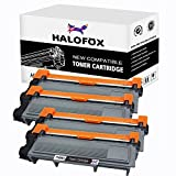 HaloFox Compatible Toner Cartridges For Brother TN660 TN-660 TN630 HL-L2340DW HL-L2300D HL-L2380DW MFC-L2700DW L2740DW DCP-L2540DW L2520DW HL-L2320D MFC-L2720DW L2740DW Printers, 4Pcs