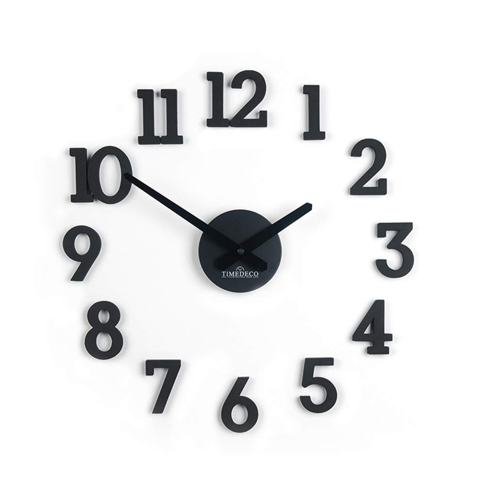 Amazon.com: TIMEDECO Decorative DIY Interior Livingroom Wall Clock 1: Home & Kitchen