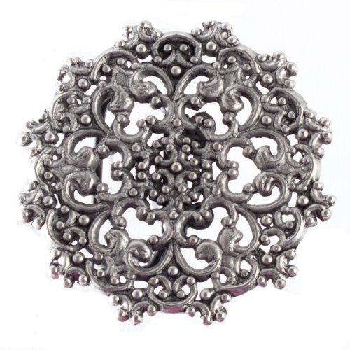 Antique Silver Filigree Round Belt ()