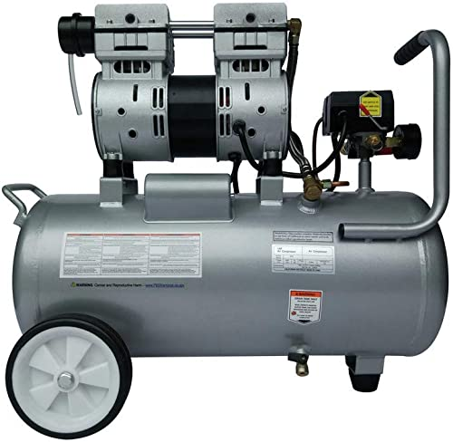 California Air Tools 8010A Ultra Quiet Oil-Free Lightweight Air Compressor