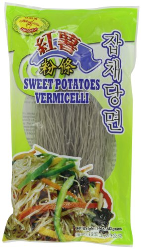 Dragonfly Sweet Potato Vermicelli, 10-Ounce (Pack of (Dragonfly Sweet)