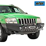 #5: EAG Off-Road Front Bumper with LED Lights for 99-04 Jeep Grand Cherokee WJ