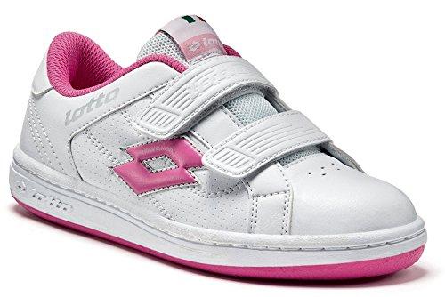 Lotto , Chaussures spécial tennis pour fille Rose white/bon bon