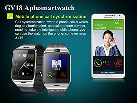 Amazon.com: GV18 Bluetooth Smart watch phone 1.55
