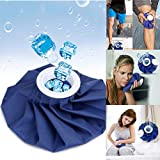 iSkylie Ice Bag Cold Pack Reusable Ice Bag Hot Water Bag for Injuries, Hot & Cold Therapy and Pain Relief (A-11in)
