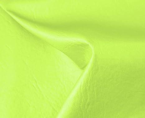 0,50 Metros de Polipiel para tapizar, Manualidades, Cojines o forrar Objetos. Venta de Polipiel por Metros. Diseño Sugan Color Verde Ancho 140cm