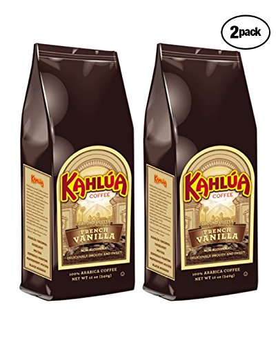 Kahlua French Vanilla Ground Coffee (2 bags/12 -