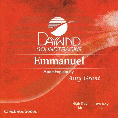 Emmanuel [Accompaniment/Performance Trac - Amy Grant Accompaniment Shopping Results