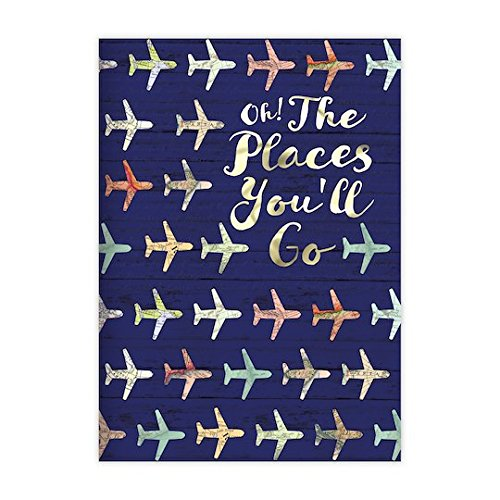 Jet Setter Bon Voyage Travel Themed Set of Three Journals by Recollections (Image #3)
