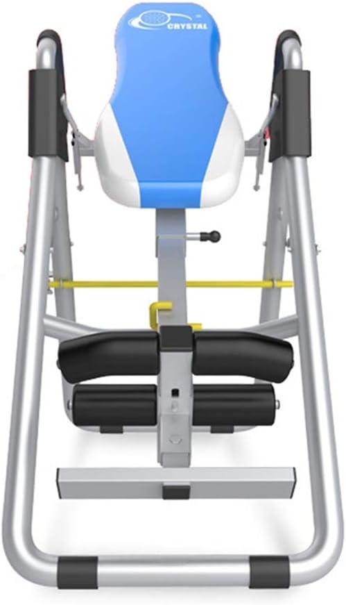 反転表 ネックサポート付きティーターベターバッククッション-家庭用反転テーブル ヘビーデューティ反転表 (色 : 青, サイズ : 60*120*180cm) 青 60*120*180cm