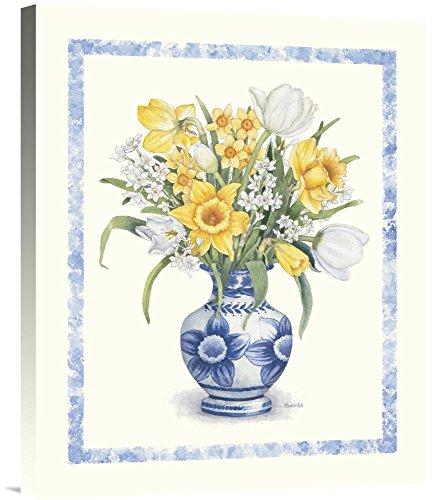 Global Gallery - daffodil flower wall art - daffodil floral wall art