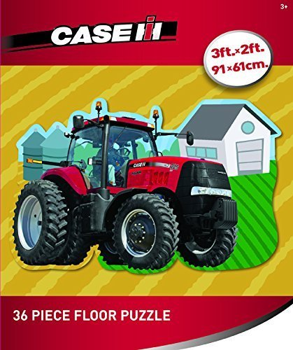 red tractor toy - 8