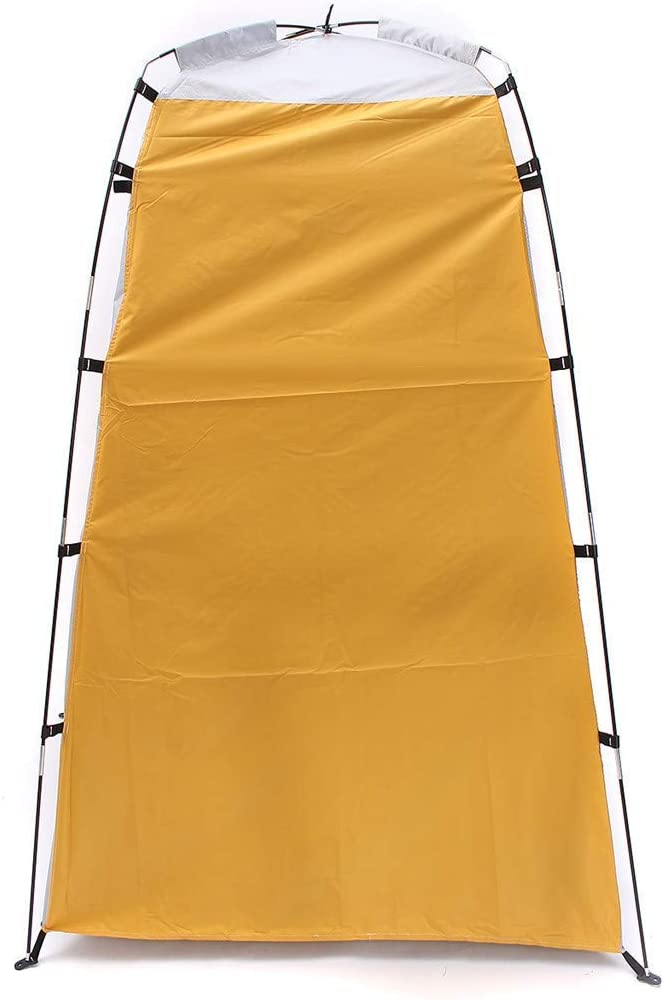 Portable Up Privacy Shelter Bathing Toilet Changing Tent Camping Room Outdoor AQUILA1125 (Color : Yellow) Yellow