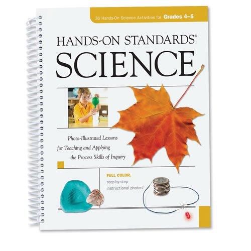 Learning Resources - Hands-On Standards Science Workbook - Grades 4-5 Spiral-bound – 2009 1569112924 LER0785 LRS1528