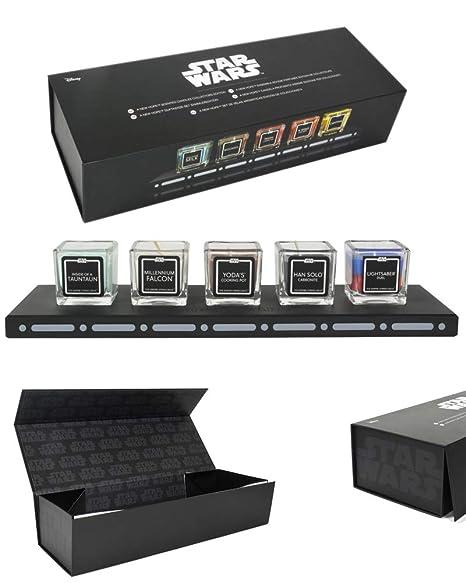 Amazon.com: Star Wars - Juego de velas aromáticas Empire ...