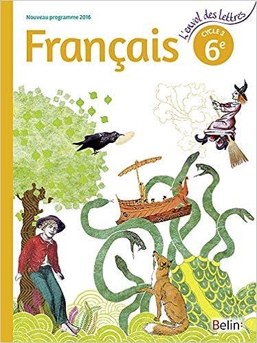 Francais 6eme Cycle 3 Livre De L Eleve Format Compact