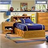 Bundle-48 Amesbury Twin Captain Bedroom Collection (3 Pieces)