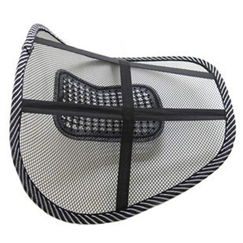 Lumbar Back Massage Mesh Brace Support Office Home Car Seat Chair Back Cushion qsbai by qsbai (Image #4)