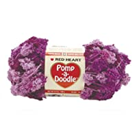 Coats & Clark Red Heart Pomp-A-Doodle Yarn: Plush Plum