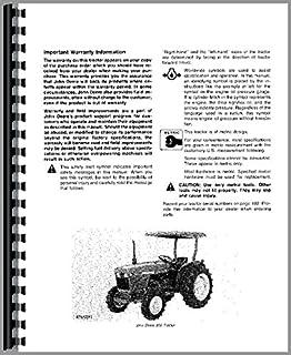 john deere 850 950 tractor operator manual
