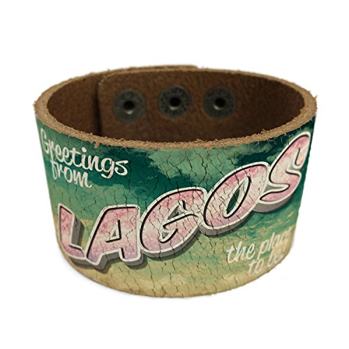 neonblond-greetings-from-lagos-vintage-postcard-leather-cuff-unisex-women-mens-bangle-bracelet