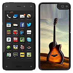 // PHONE CASE GIFT // Duro Estuche protector PC Cáscara Plástico Carcasa Funda Hard Protective Case for Amazon Fire Phone / Guitar /