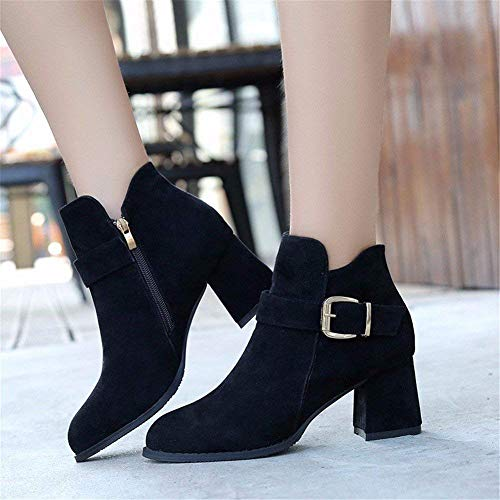 Work Donne 37 Deed Elegant Thick Warm With Buckle Increased Boots Eu Shoes 's Le Bqa8S