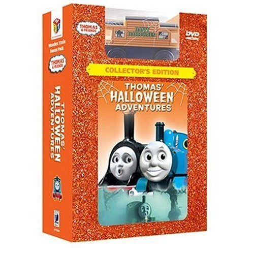 ***COLLECTORS EDITION*** Thomas Halloween Adventure {FREE BONUS HALLOWEEN TRAIN & BONUS GAME, CHARCTER GALLERY, READ ALONG STORY & 2 SING-ALONG SONGS} -