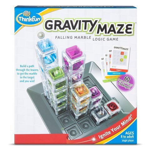 New Gravity Maze Falling Marble Logic Game by Think Fun