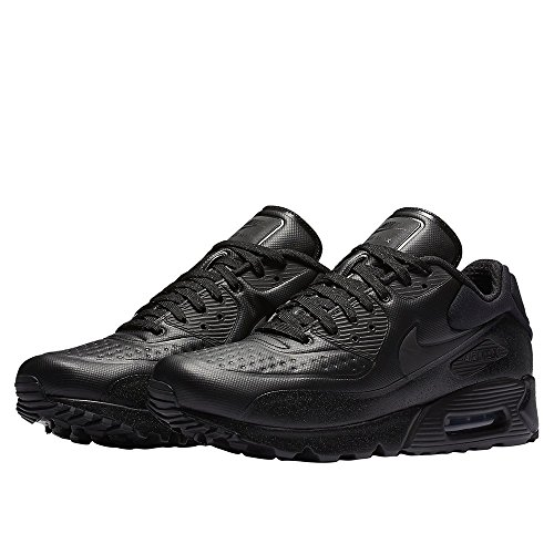Nike Mens Air Max 90 Ultra Sé Premium Pattini Correnti Sintetica Nero / Metallico Dellematite / Nero