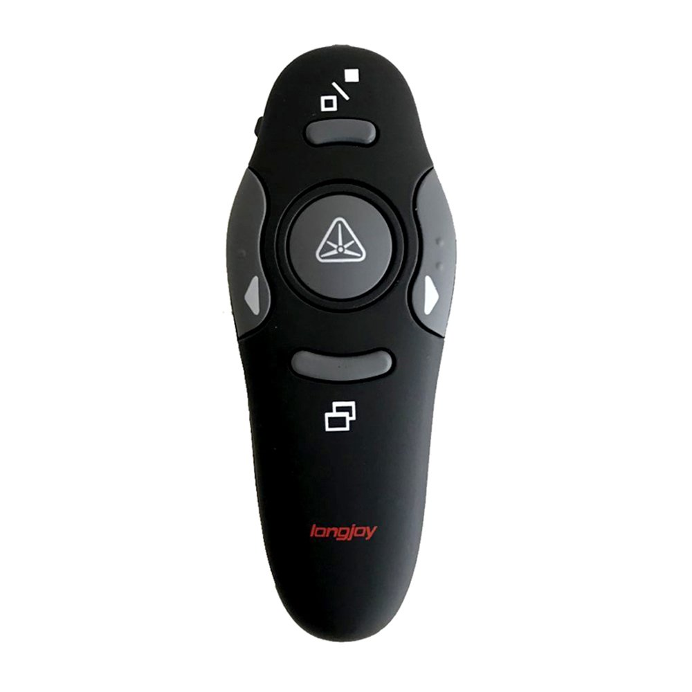 Wireless Presenter Longjoy RF 2.4GHz Laser Presenter Remote Presentation Laser Pointer USB Control PowerPoint PPT Clicker by Longjoy (Image #8)