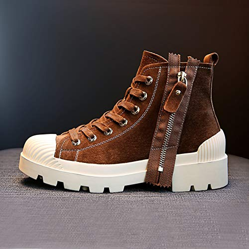 Kurze Stiefel Schuhe der Frauen Fallen Flachbodigen Dicke Englische Fan Retro Martin