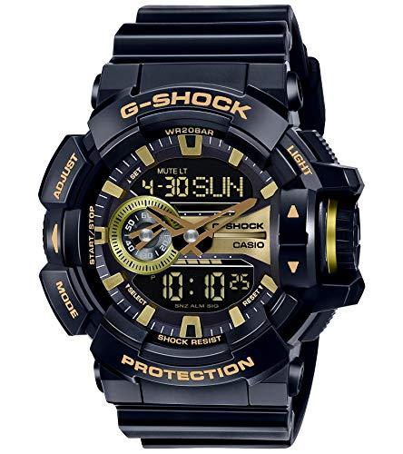 Casio Men's GA400GB-1A9 Black Resin Quartz Watch
