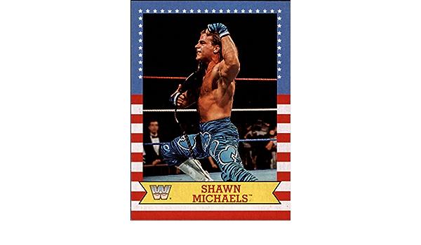 2017 Topps Heritage WWE Summerslam All-Stars #5 Shawn Michaels